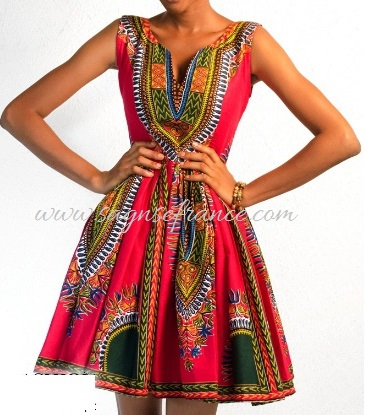 Tenue Wax moderne : Mode Africaine - Tenue Wax et Dashiki sur le site ...